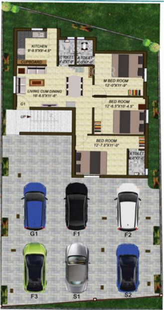 Images for Cluster Plan of Shree Mohan Flats