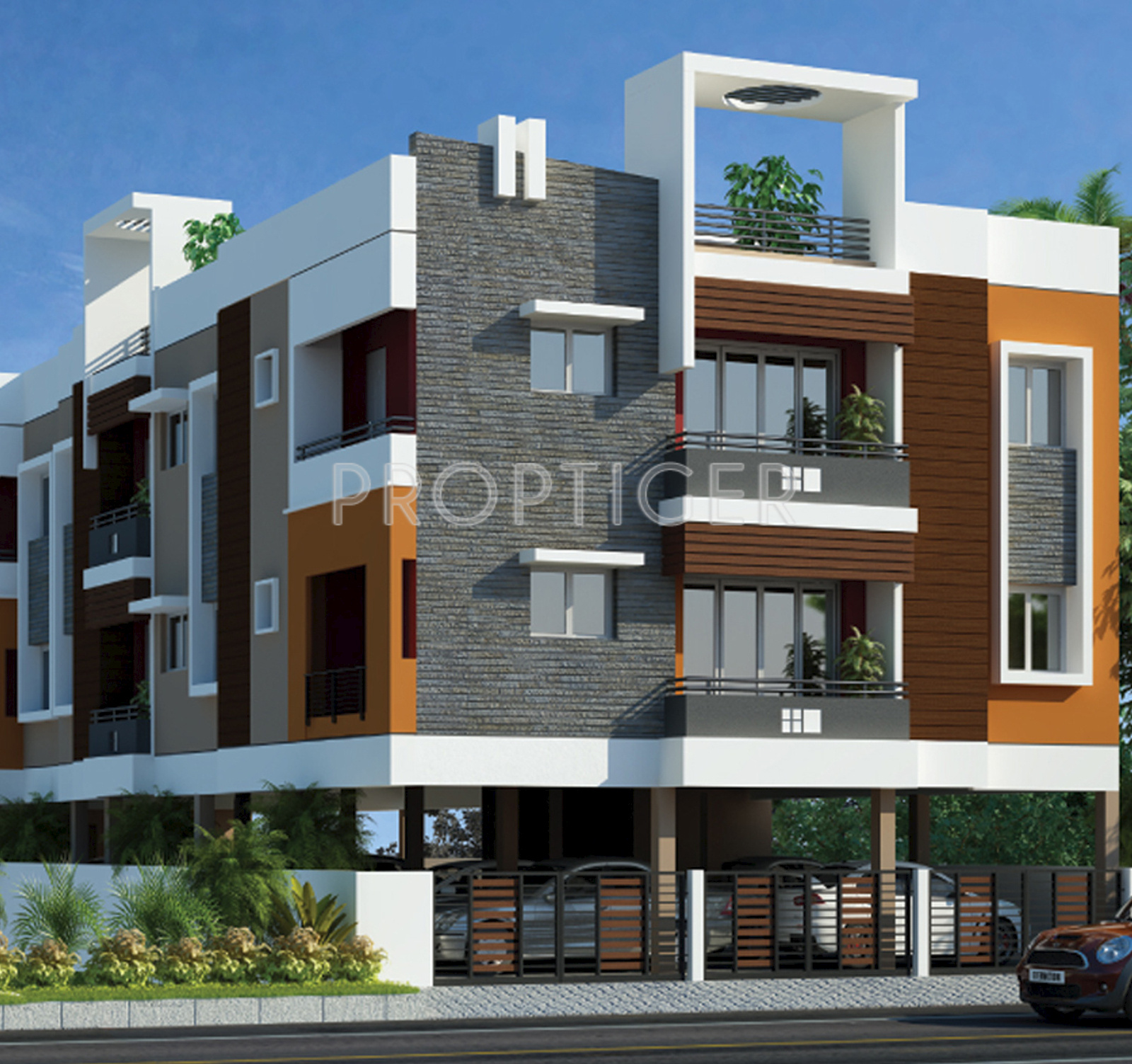 Front Elevation Designs For Schools : Sq ft bhk floor plan image ms charan mm rhythm