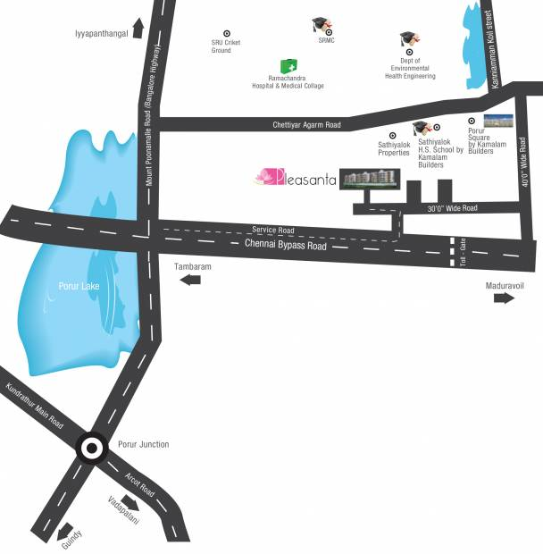 Images for Location Plan of Kamalam Pleasanta