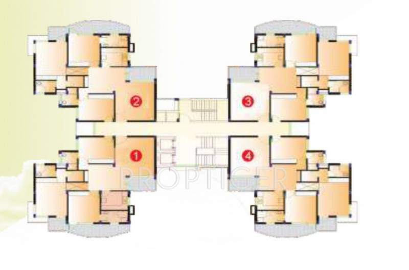 Images for Cluster Plan of Amarnath Panchkula Apartments