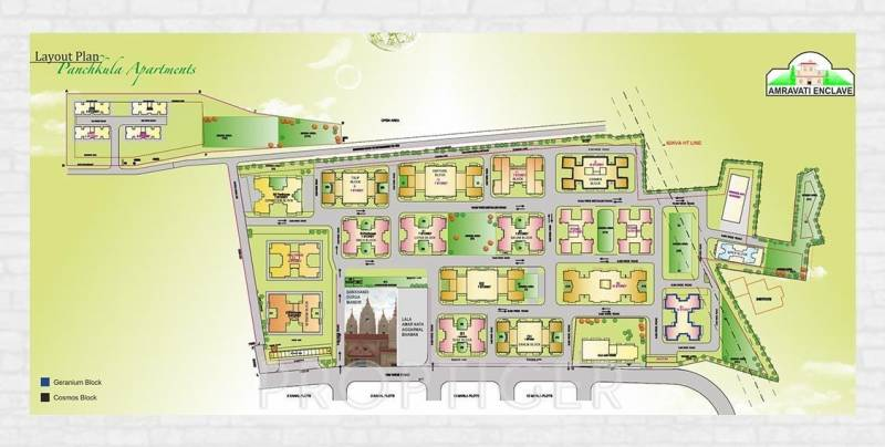 Images for Layout Plan of Amarnath Panchkula Apartments
