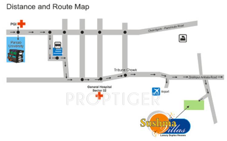 sushma-villa Images for Location Plan of Sushma Sushma Villa