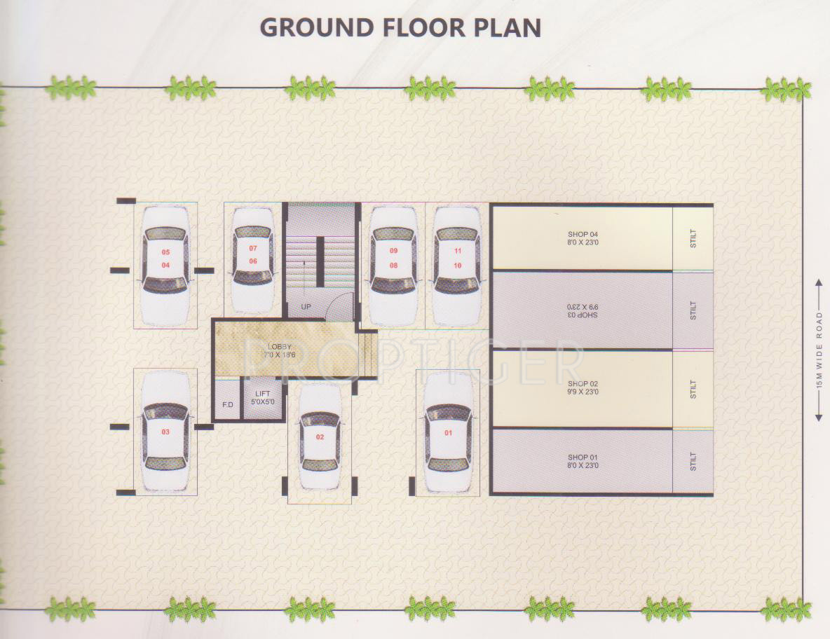 640 sq ft 1 bhk 1t apartment for sale in dream sky ulwe mumbai for 640 square feet floor plan