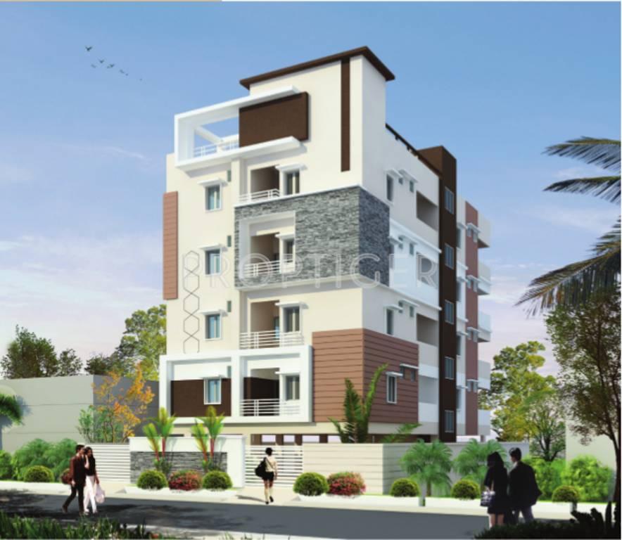 5 Floor Apartment Elevation : Trendz riviera in madhapur hyderabad price location