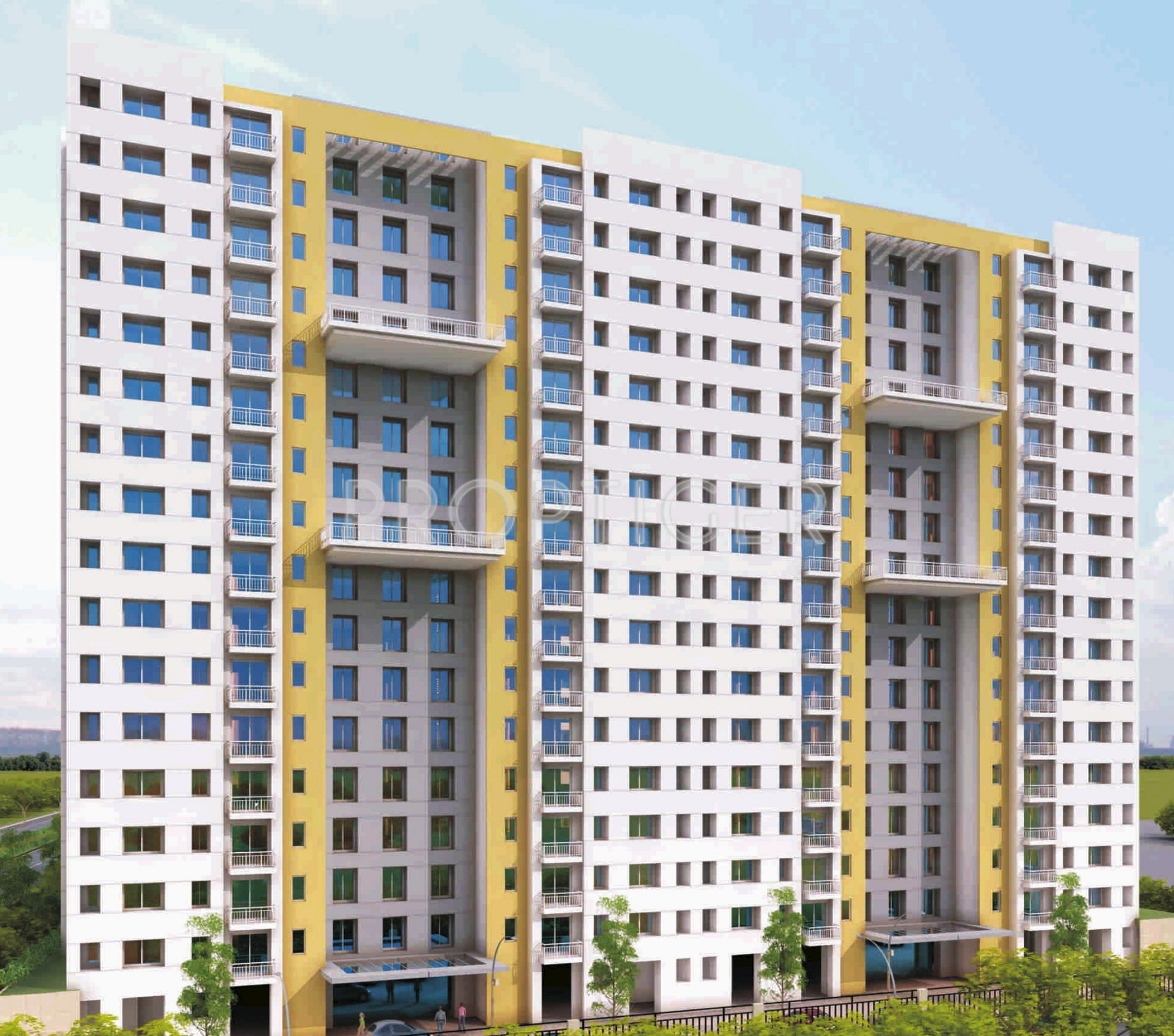 1 BHK 1T Apartment For Sale In Lodha Group Casa Essenza