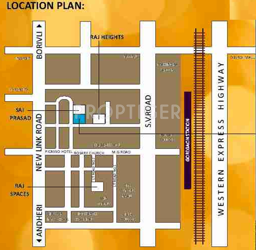 Raj Raj Residency In Goregaon West Mumbai Price