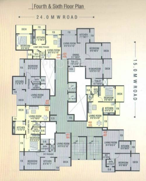 Images for Cluster Plan of Radhe Krishna Villa