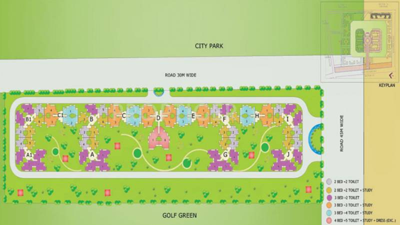 Images for Layout Plan of Aims AMG Resi Complex 2