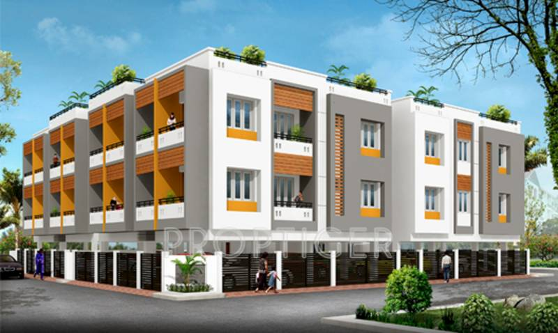 Images for Elevation of Sapthagiri Sarithra Apartment