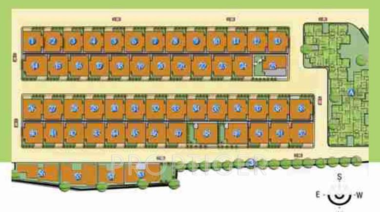 Images for Layout Plan of Panda Gatikrushna Green Villas