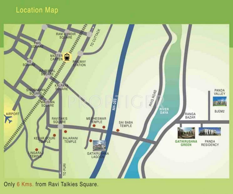 Images for Location Plan of Panda Gatikrushna Green Villas