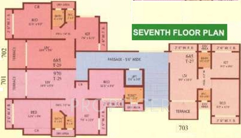770 Sq Ft 1 Bhk 2t Apartment For Sale In Om Sai