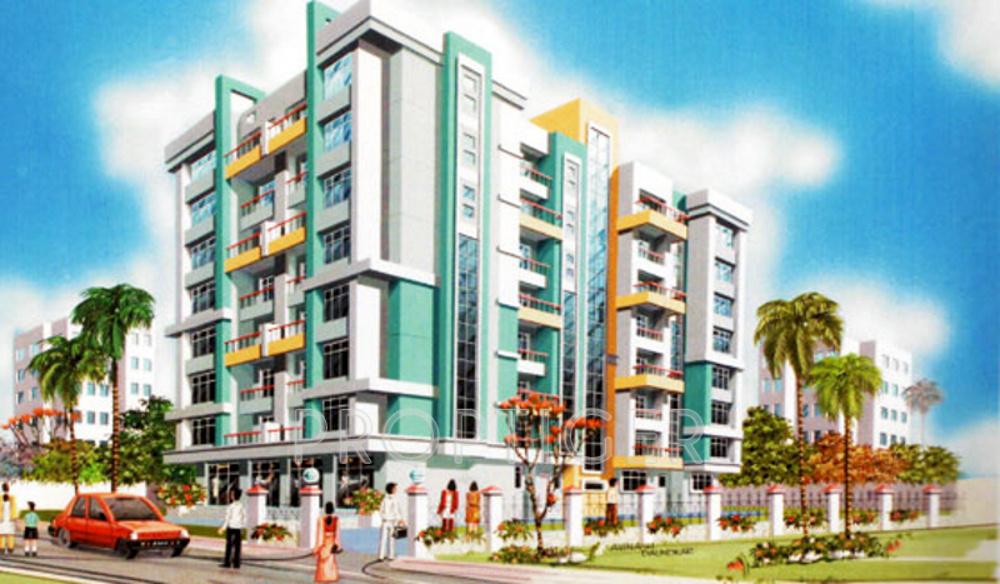 770 sq ft 1 bhk floor plan image om sai enterprises for 770 plan