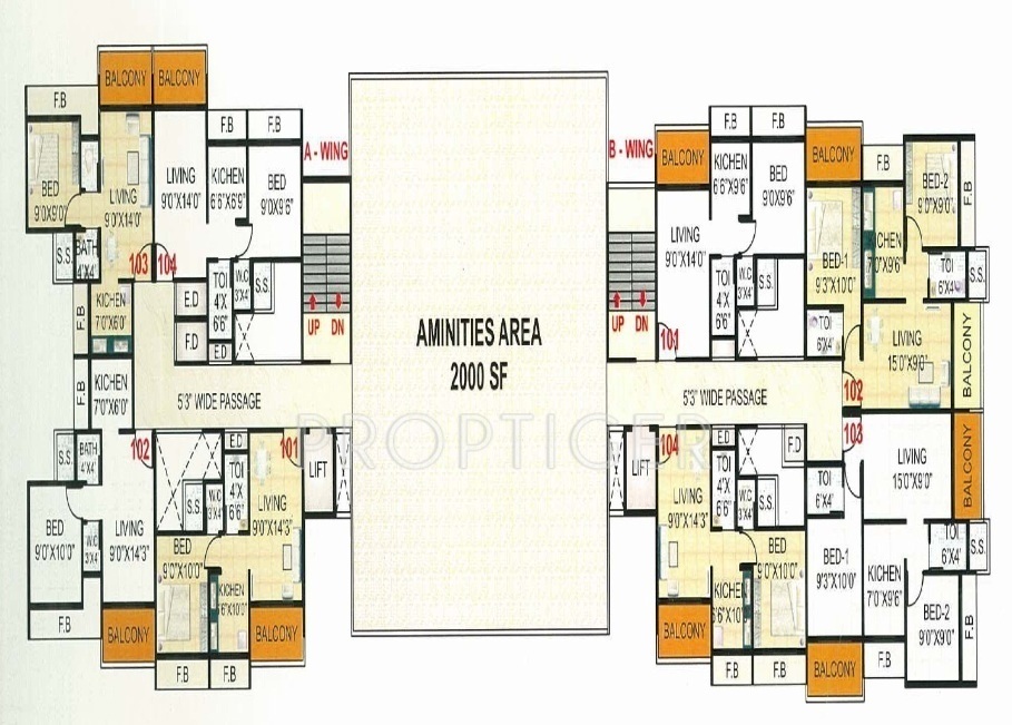 640 Sq Ft 1 Bhk 1t Apartment For Sale In Resicom