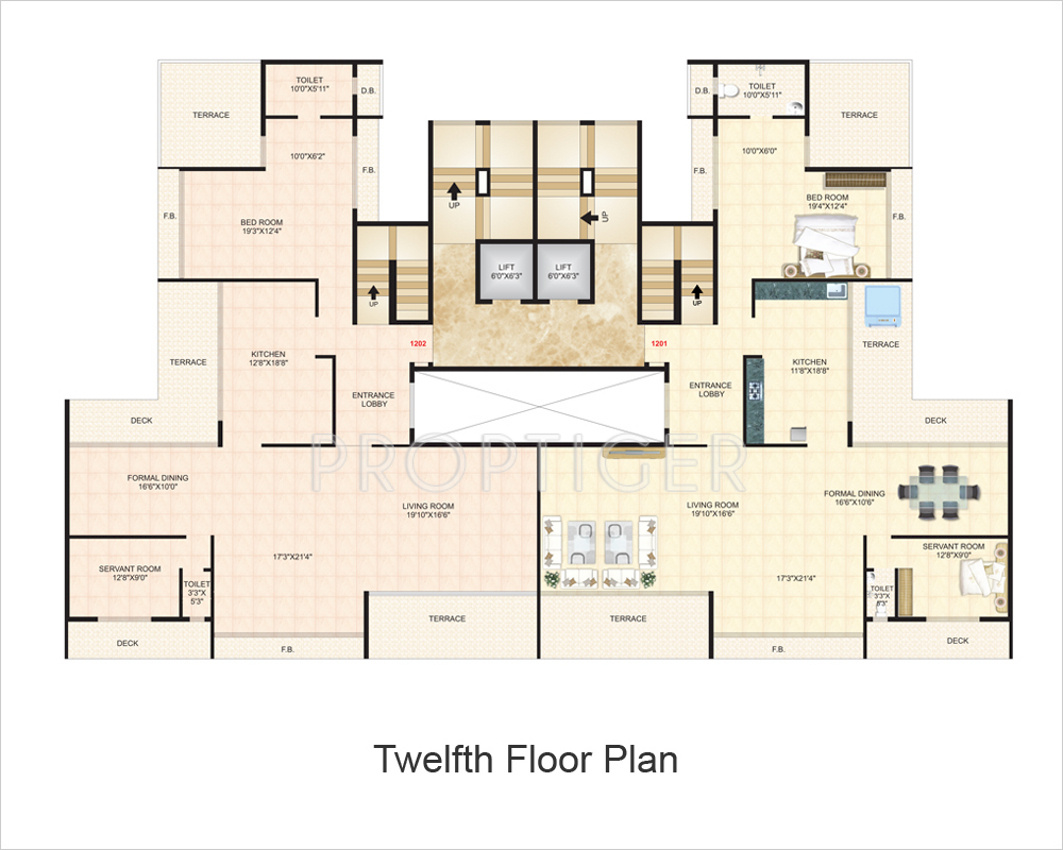 800 sq ft 1 bhk 2t apartment for sale in s r thakur for Bhk laminate flooring