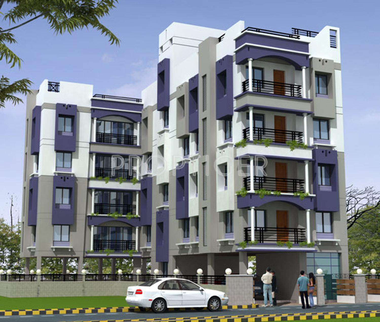 Omkar Devlok Apartment In Salt Lake City, Kolkata