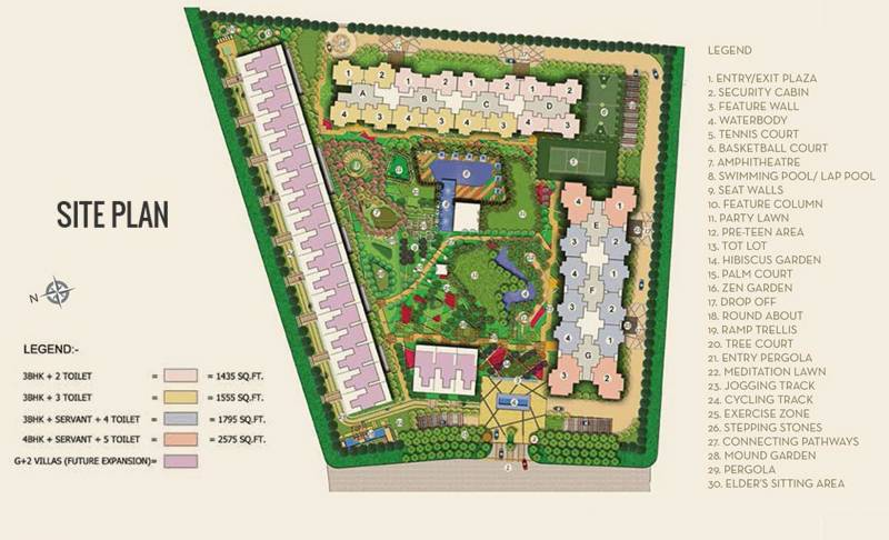 Images for Site Plan of Ajnara The Belvedere