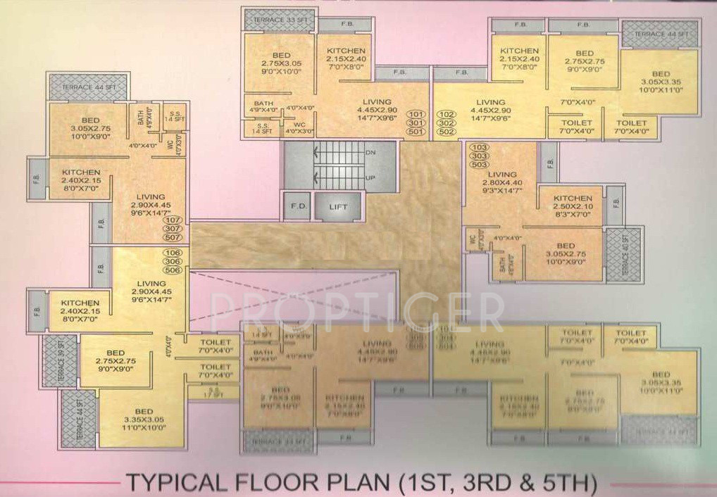 Radha residency in ulwe mumbai price location map for X2 residency floor plan