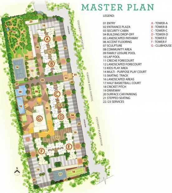 Images for Master Plan of Vaswani Menlo Park