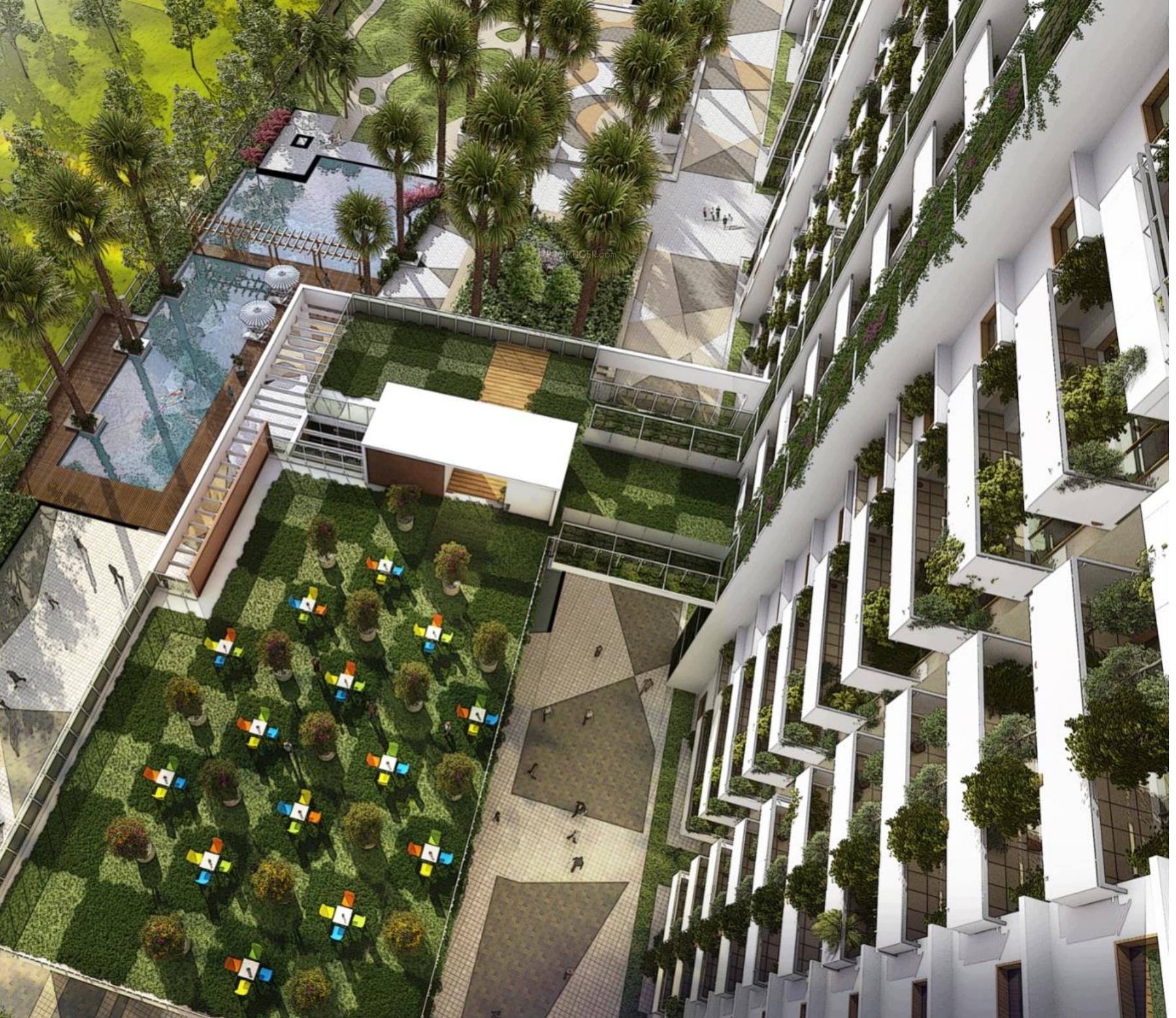 Menlo Park Apartments: 1599 Sq Ft 3 BHK 3T Apartment For Sale In Vaswani Group