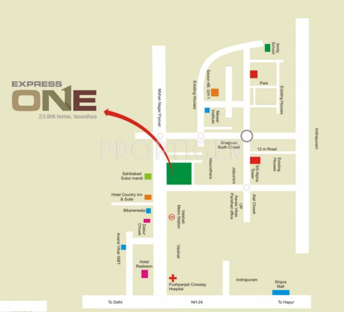 Images for Location Plan of Express One