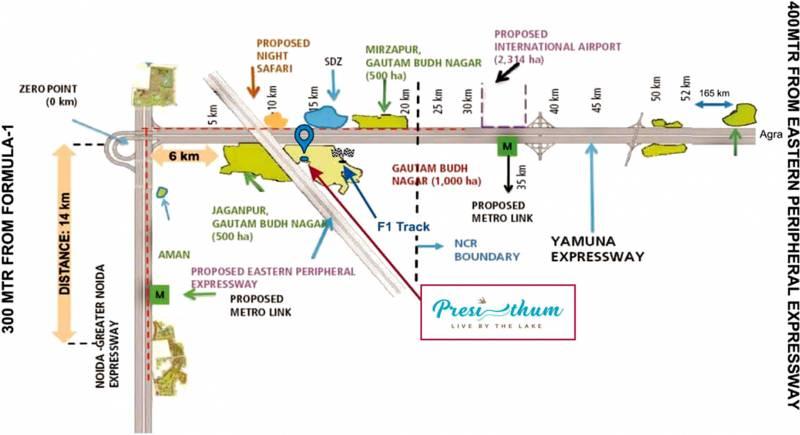 Images for Location Plan of Bhutani Presithum
