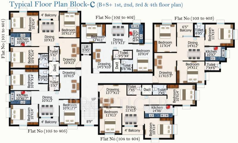 Images for Cluster Plan of Shuvam Residency Phase 2