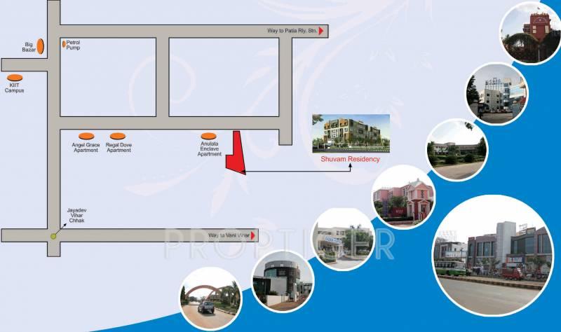 Images for Location Plan of Shuvam Residency Phase 2