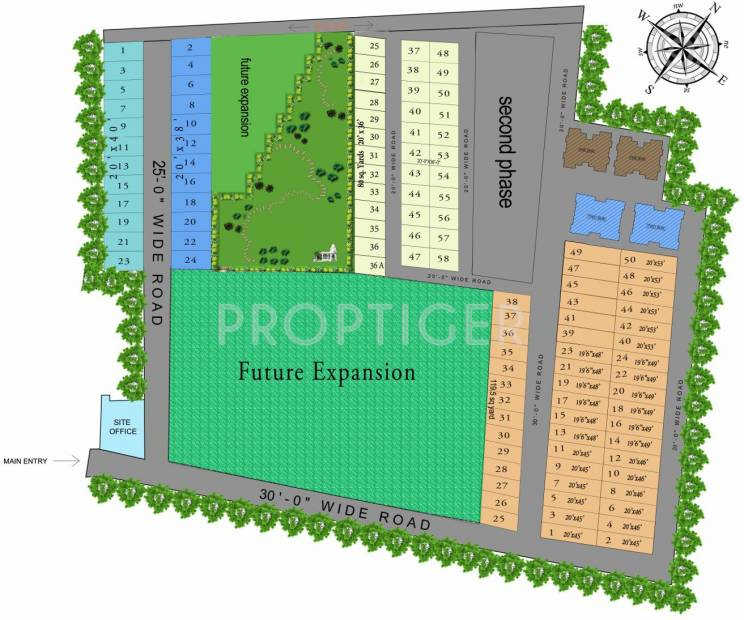 mehak-infrastructure eco-city-plots Layout Plan