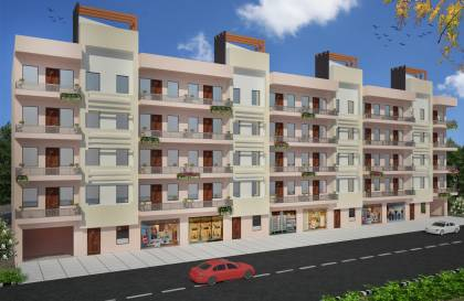 Images for Elevation of Mehak Eco City Apartment