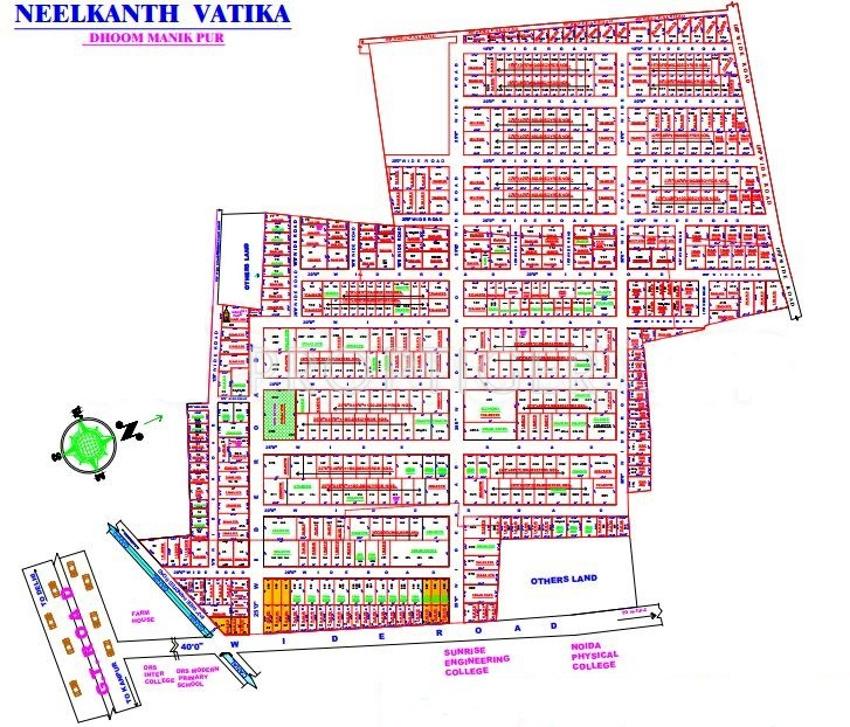 540 sq ft plot for sale in snr neelkanth developers vatika for 540 sq ft