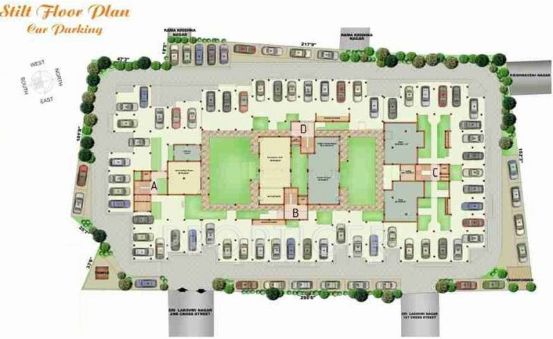 Images for Cluster Plan of DPR Peace Garden