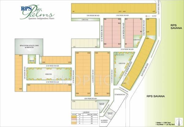 Images for Master Plan of RPS Palms