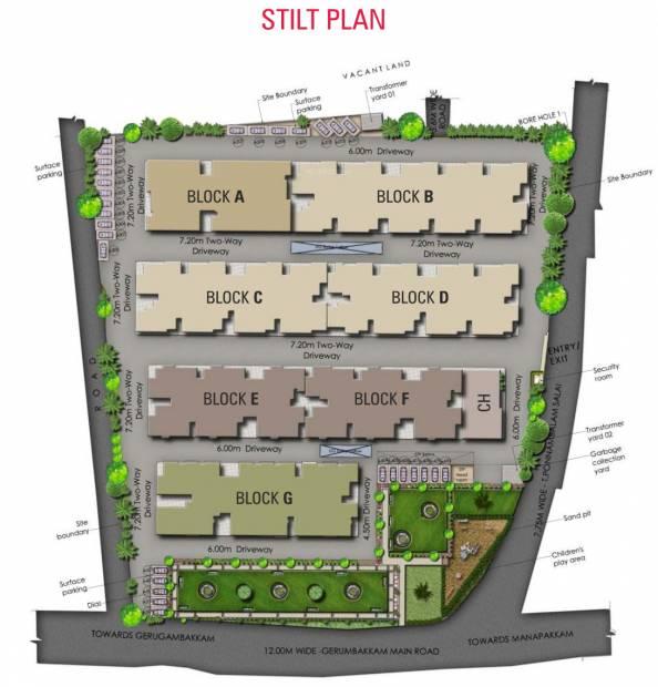 gayatri Images for Site Plan of Isha Gayatri