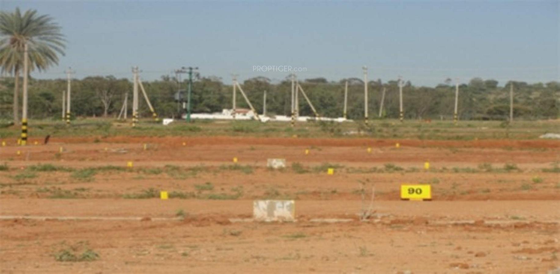 Real Estate Land : Sq ft plot for sale in green wealth estate ashok