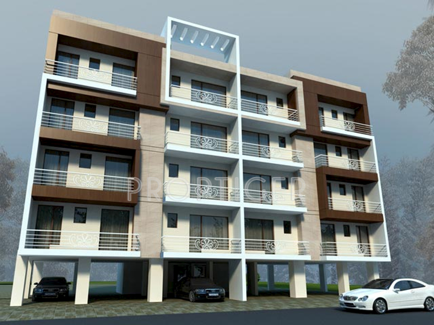Payment plan image of bright wave bright home naurangabad for Bright house design