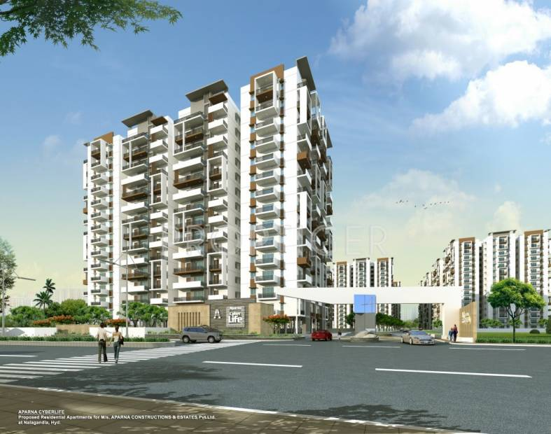 Images for Elevation of Aparna Cyber Life