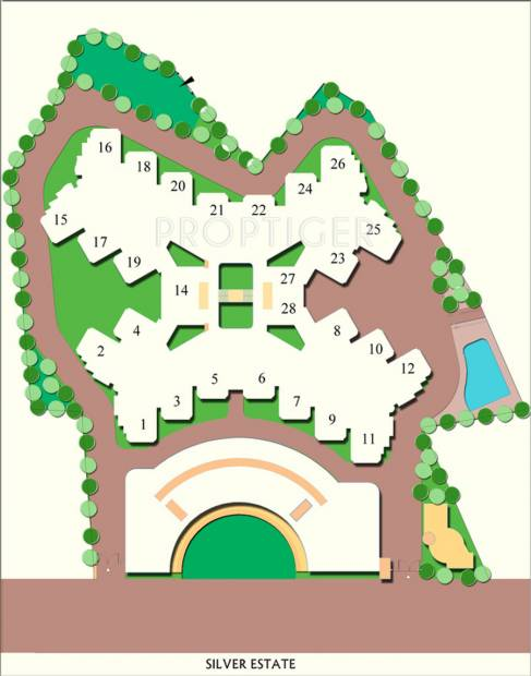 Images for Layout Plan of Neoteric Silver Estate