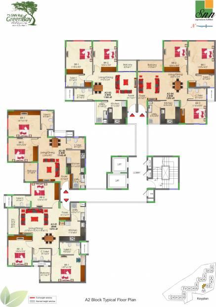 Images for Cluster Plan of SNN Raj Greenbay
