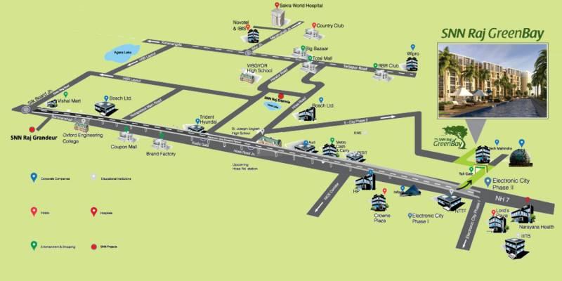 Images for Location Plan of SNN Raj Greenbay