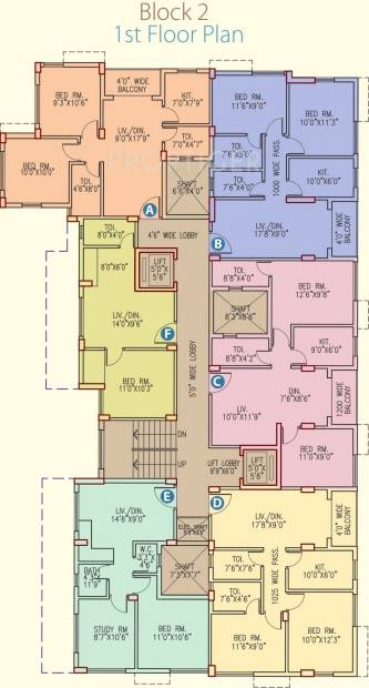 Images for Cluster Plan of Vinayak Cosmopolis