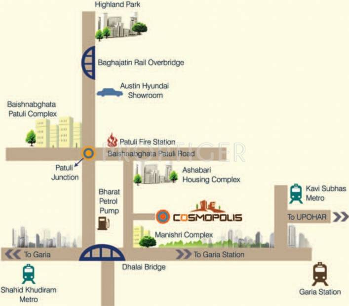 Images for Location Plan of Vinayak Cosmopolis