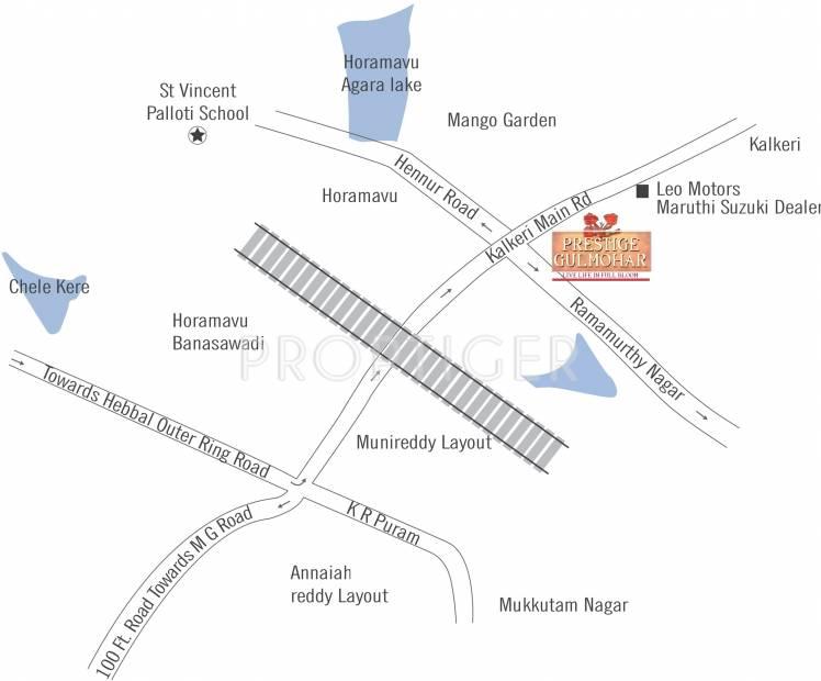 Images for Location Plan of Prestige Gulmohar