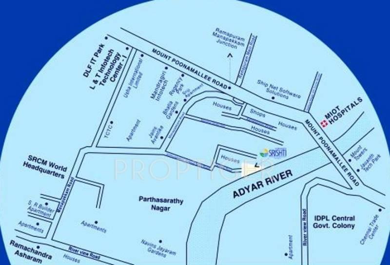 Images for Location Plan of Vaikund Srishti
