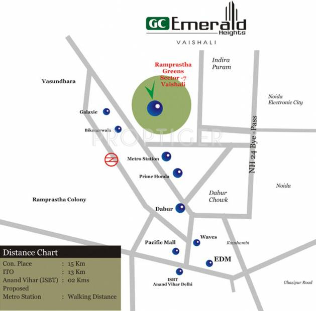 emerald-heights Images for Location Plan of Gulshan Homz Emerald Heights