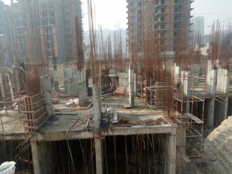 Images for Construction Status of Cosmos Shivalik Homes 2