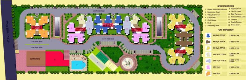 Images for Layout Plan of Cosmos Shivalik Homes 2