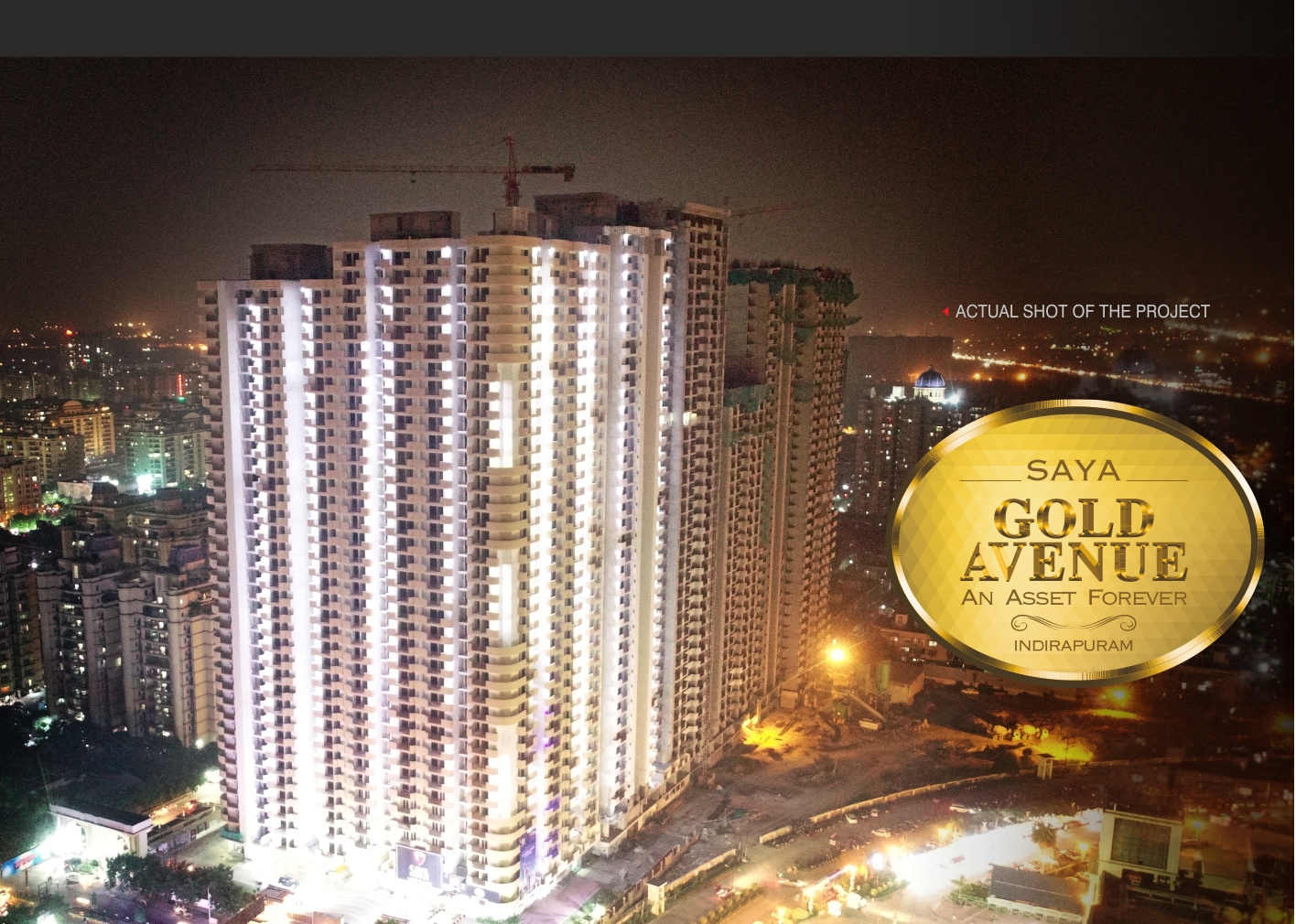 1480 sq ft 3 BHK 2T Apartment for Sale in Saya Homes Gold