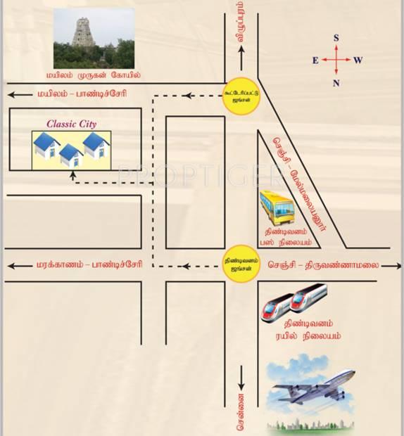 periyar-realtors classic-city Location Plan