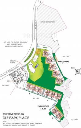 park-place Images for Layout Plan of DLF Park Place